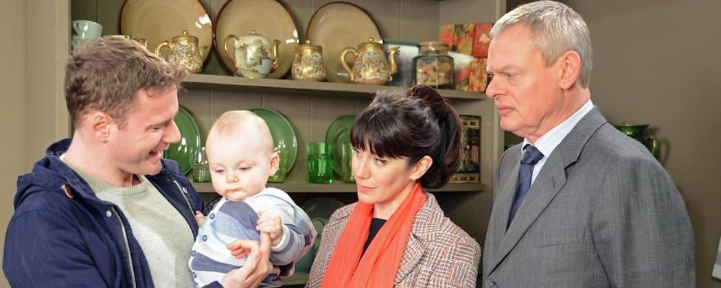 "Caroline Katz and Martin Clunes in ""Doc Martin."" (Buffalo Pictures/ITV)"