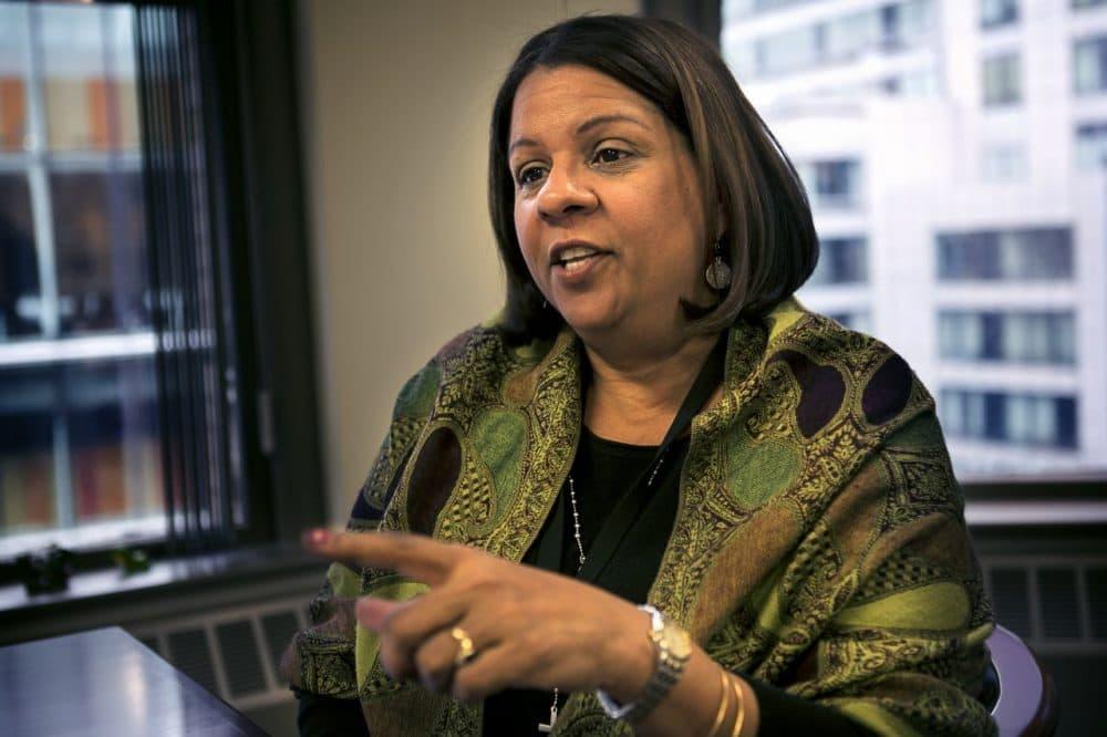 DCF Commissioner Olga Roche (Jesse Costa/WBUR)
