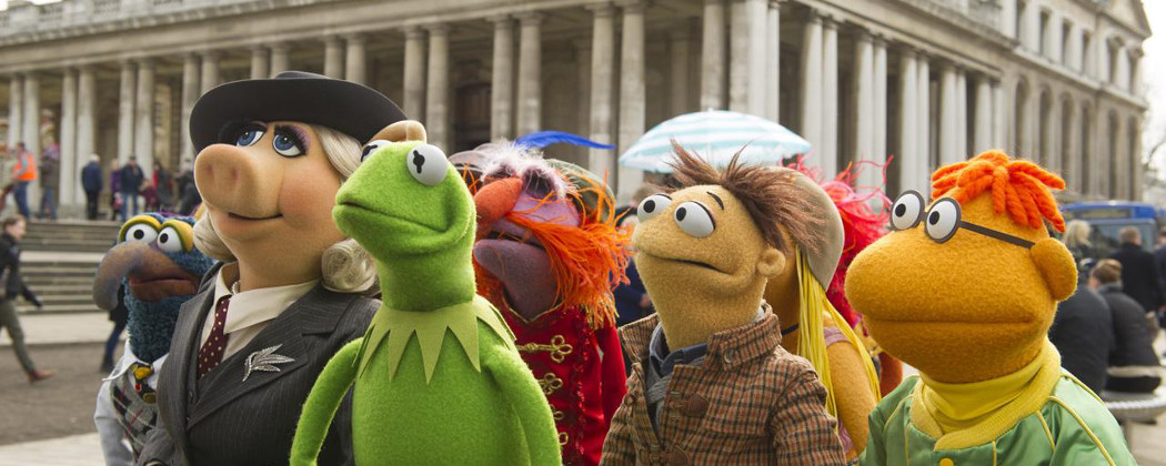 """A scene from """"Muppets Most Wanted."""" (Courtesy)"""