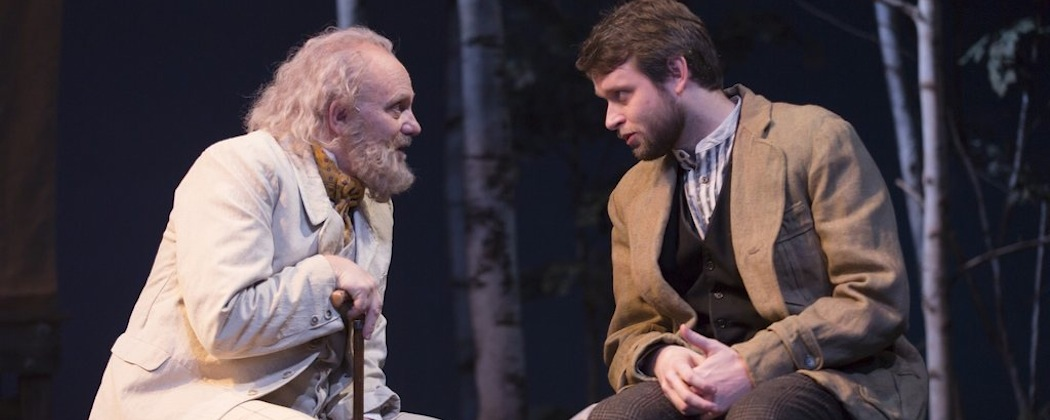 "Thomas Derrah and Morgan Ritchie star in ""The Seagull"" at the Huntington Theatre Company. (T. Charles Erickson)"