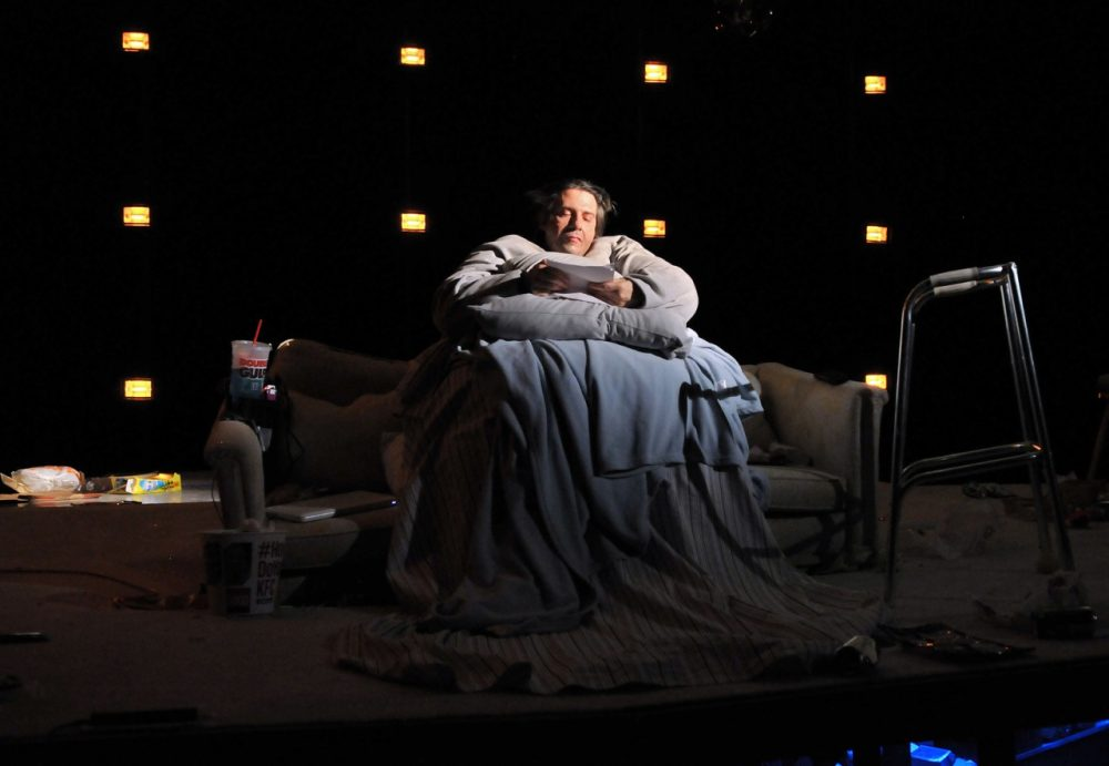 """John Kuntz in the SpeakEasy Stage Company production of """"The Whale."""" (Craig Bailey/Perspective Photo)"""