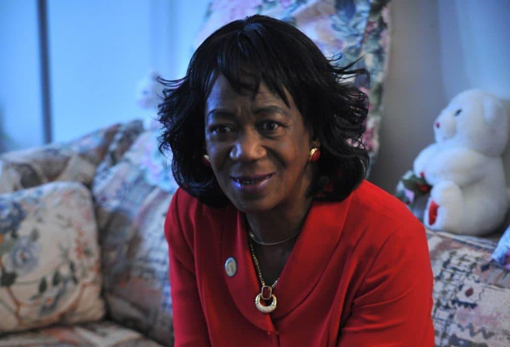 President Obama's aunt, Zeituni Onyango, in her home in Boston. (Josh Reynolds/AP)
