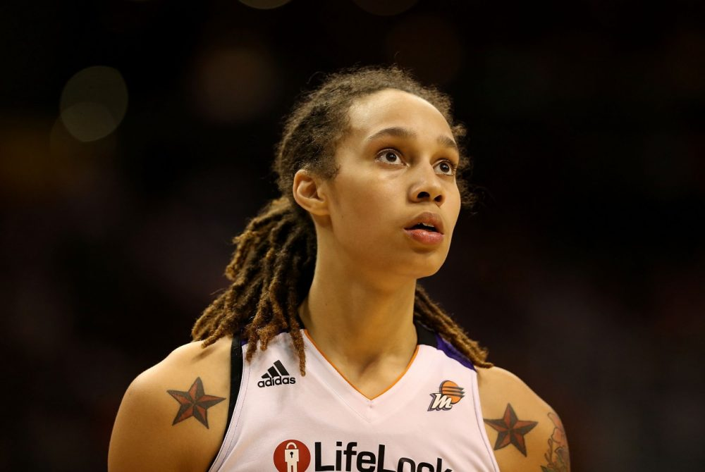 Phoneix Mercury center Brittney Griner was a three-time All-American at Baylor and the No. 1 overall pick in the 2013 WNBA draft. (Christian Petersen/Getty Images)