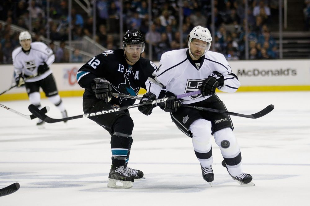 The San Jose Sharks and LA Kings are playing in the first round of the NHL playoffs while a third team from California is also competing for the Stanley Cup. (Ezra Shaw/Getty Images)