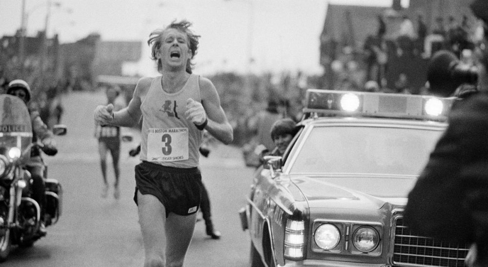 Julie Wittes Schlack: Contrary to the divine wisdom of Dr. Phil, a detailed analysis suggests life is neither marathon nor sprint. In this photo, Bill Rodgers, of Melrose, Mass., crosses the finish line to win the Boston Marathon on April 17, 1978. (AP)