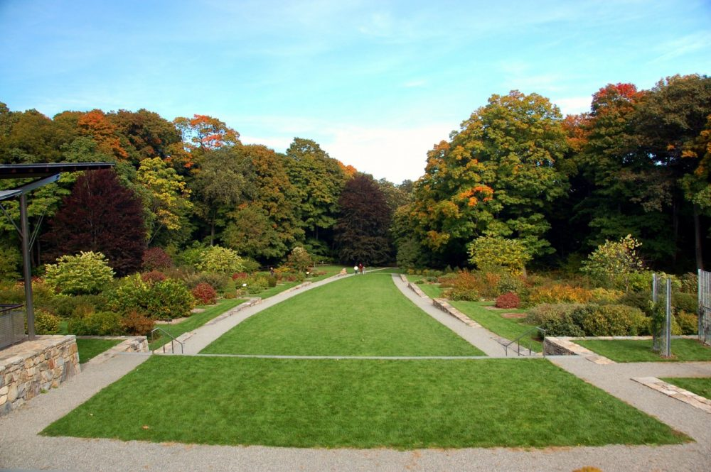 The Arnold Arboretum, a key link in Olmsted's Emerald Necklace. (Chris Devers/Flickr)