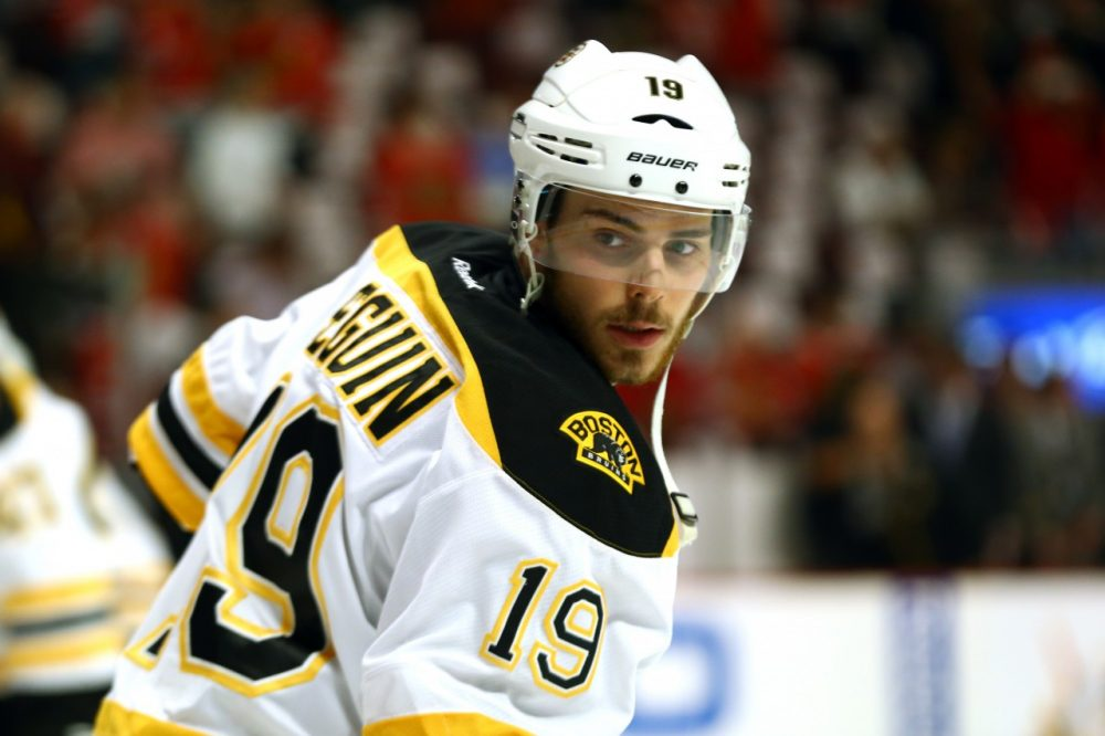 The quest for Tyler Seguin's athletic cup began on eBay. (Bruce Bennett/Getty Images)