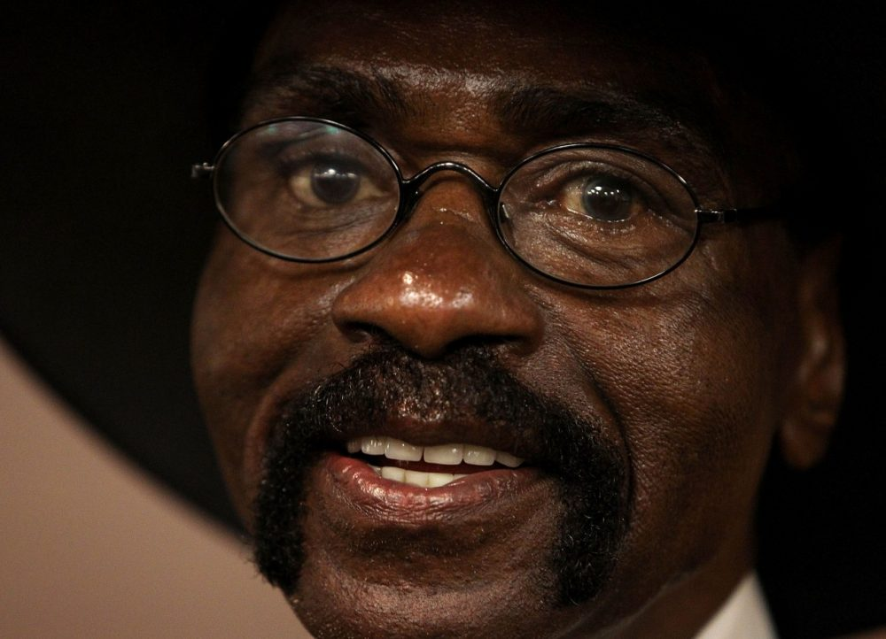 Rubin Carter died on Sunday.  (Paul Kane/Getty Images)
