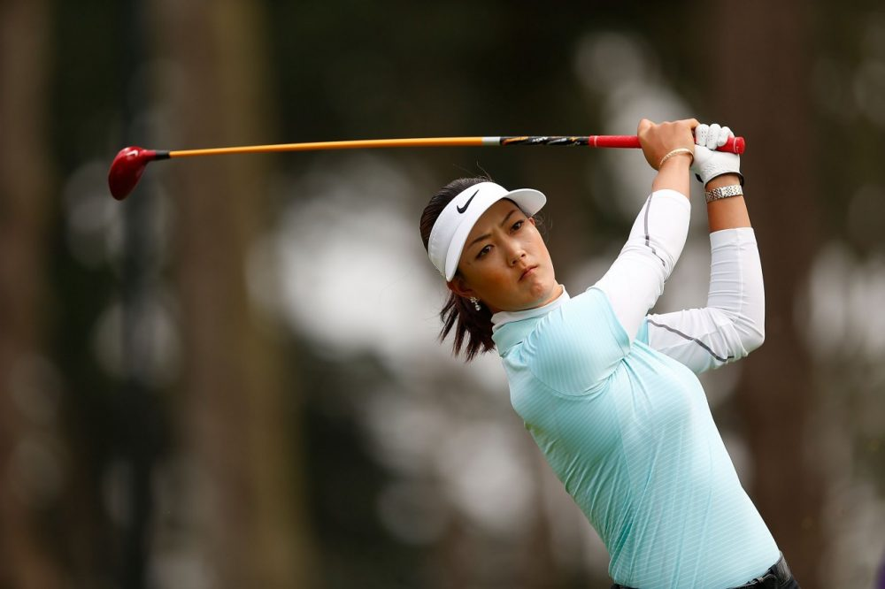 Many people forgot about Michelle Wie, but she's returned to golf at the wise old age of 24. (Jed Jacobsohn/Getty Images)