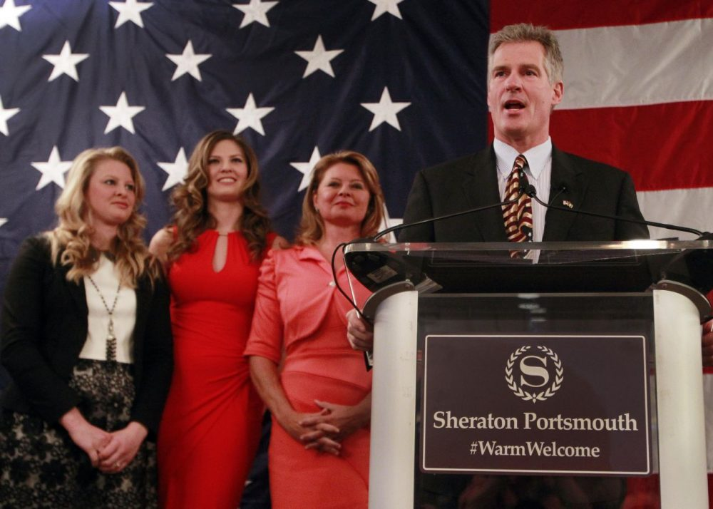 Former Massachusetts U.S. Senator Scott Brown announced his plans to run for the U.S. Senate in New Hampshire last April.