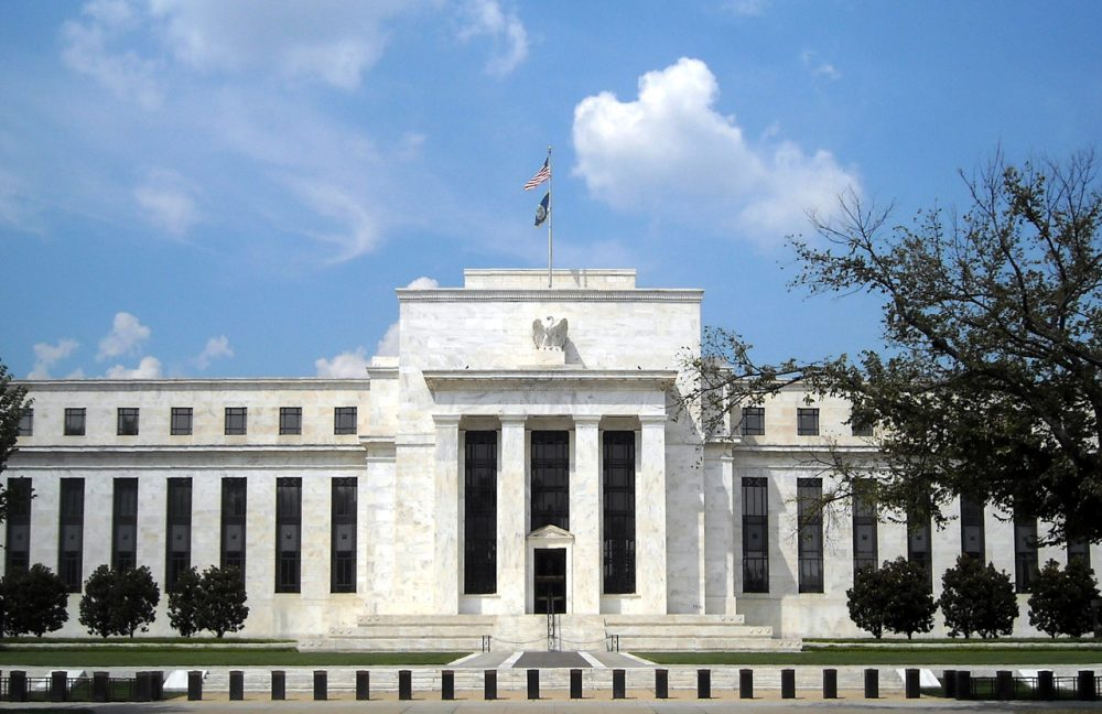 The Eccles Building in Washington, D.C., serves as the Federal Reserve System's headquarters. (Wikimedia Commons)