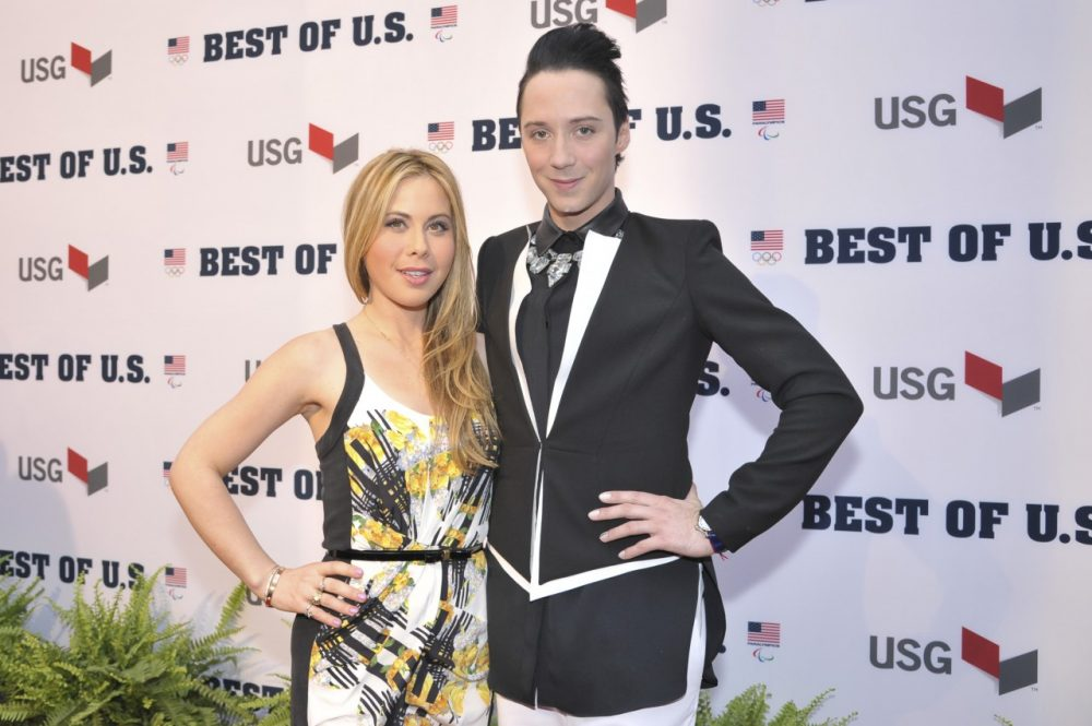 Tara Lipinski and Johnny Weir will be teamming up again to cover the fashion at the Kentucky Derby. (Kris Connor/Getty Images for the USOC)