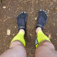 Vibram's FiveFinger running shoes have developed a strong following among runners who believe minimal cushioning in shoes provides a better running experience, but the company recently settled a lawsuit claiming there was no science backing up their claims. (Patrick Yodarus/Flickr)