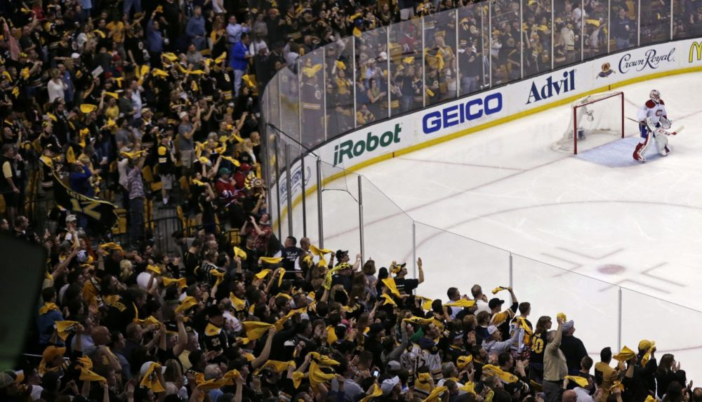 The Boston Bruins will have home ice for Game 7 Wednesday night. (Charles Krupa/AP)