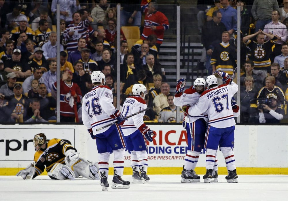 Image result for bruins lose to the montreal canadiens 2014