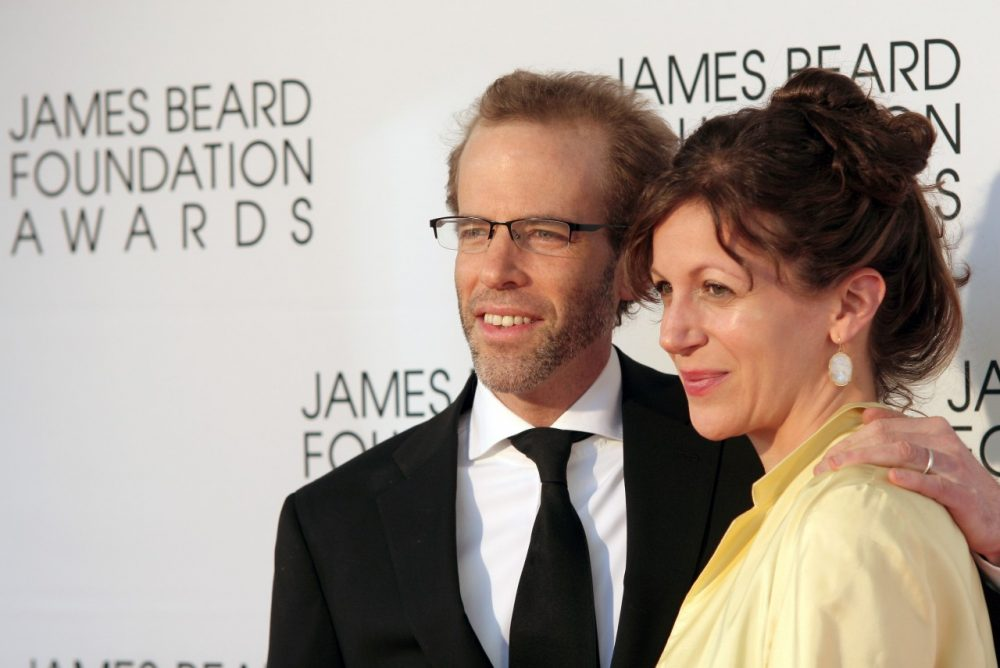 Restauranteur Dan Barber and his wife Aria Beth Sloss arrive at the James Beard Foundation Awards Gala. (Andy Kropa/Invision/AP)