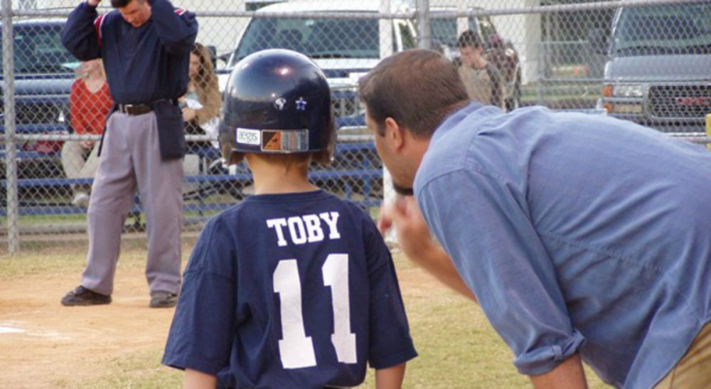 My ex is over-sharing details of our private life to my son's baseball coach. What should I do? (T Morris/flickr)