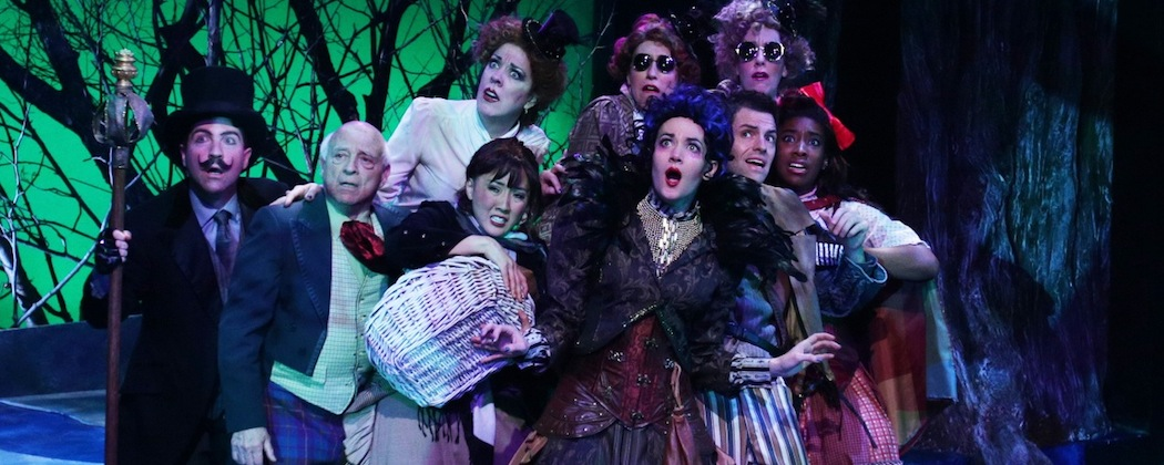 "The cast of ""Into the Woods"" at the Lyric Stage Company of Boston. (Mark S. Howard)"