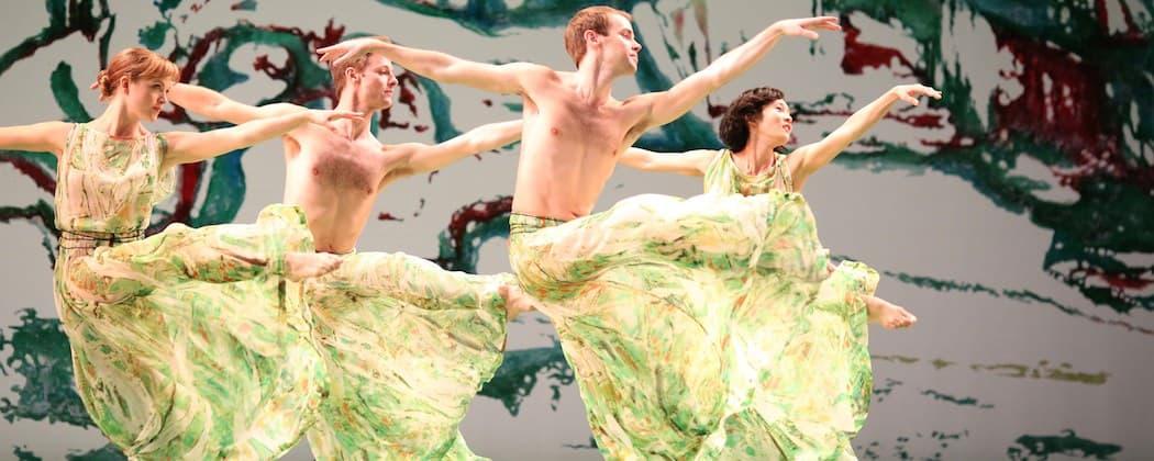"The Mark Morris Dance Groupl in ""'Acis and Galatea."" (Ken Friedman)"