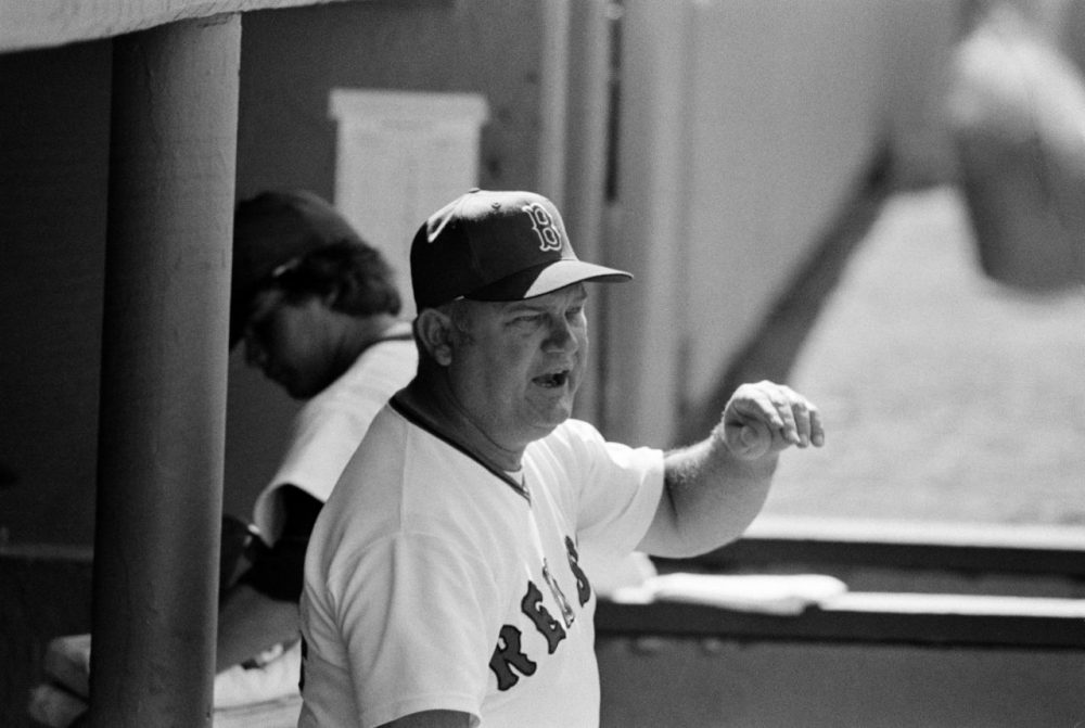 Don Zimmer managed the Boston Red Sox from 1976 to 1980. (AP)