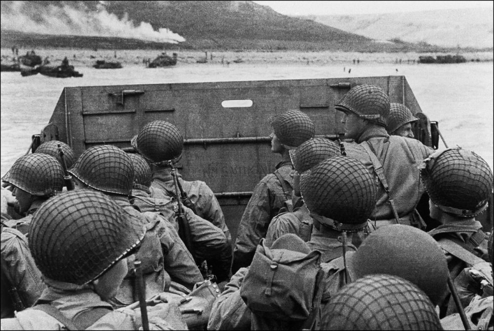 Invading Normandy