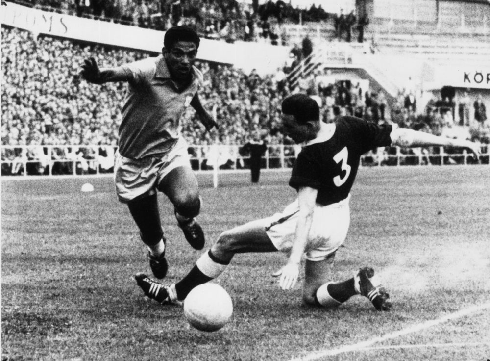 Image result for garrincha 1958