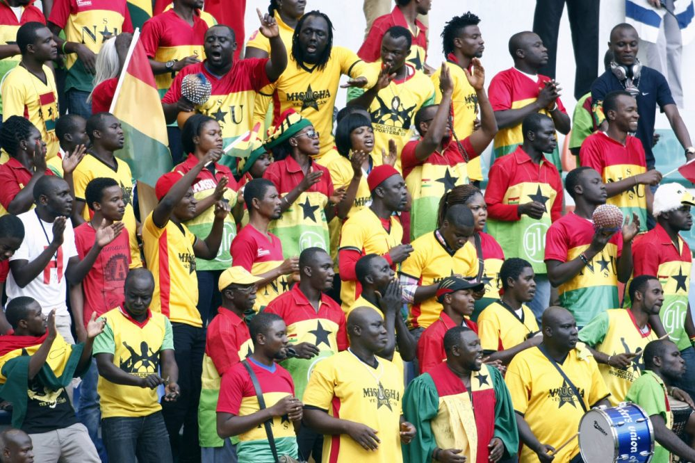 To ensure that fans could watch their country's World Cup opener on television, Ghana's government took steps to preserve power. (Aykut Akici/AFP/Getty Images)