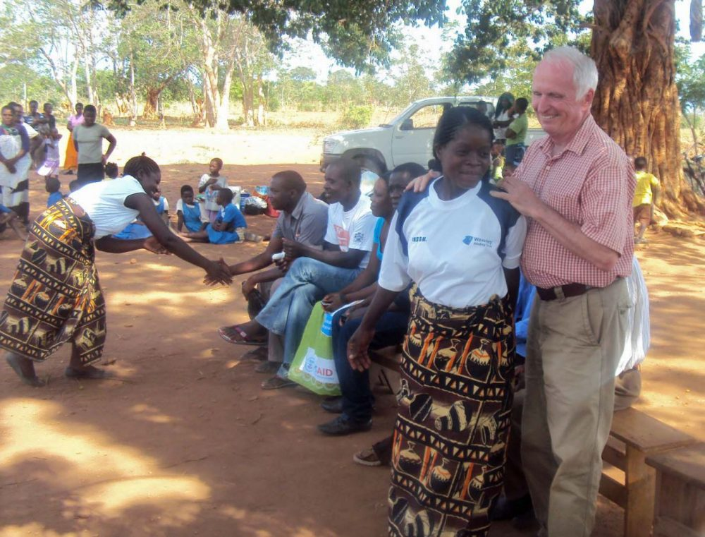 Charlie Fiske just returned from a stint with the Peace Corps in Malawi. (Courtesy)