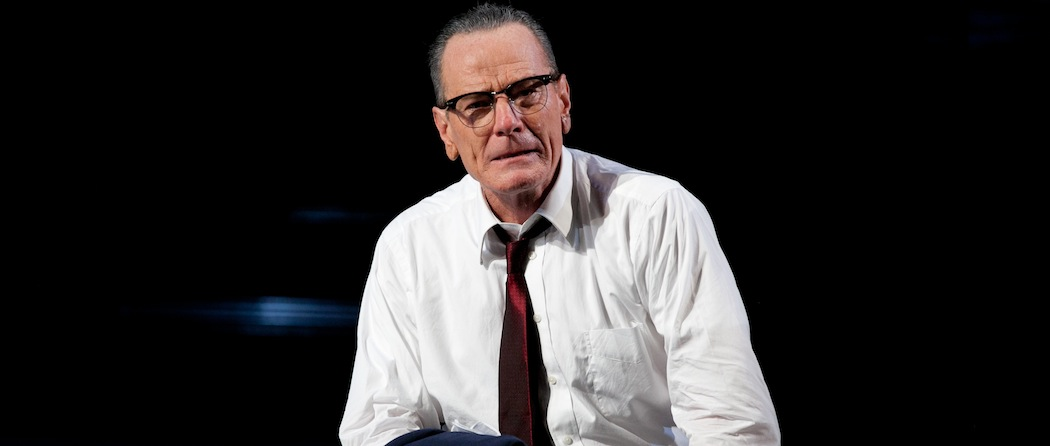 """Bryan Cranston in """"All the Way."""" (Courtesy, American Repertory Theater)"""