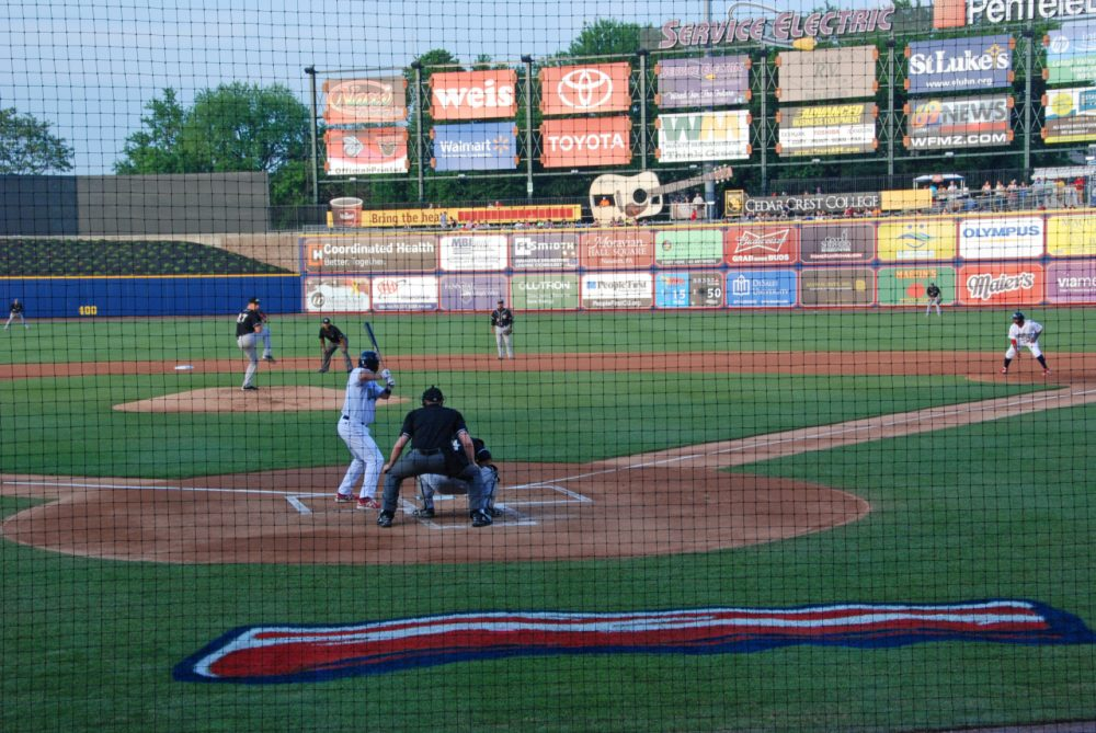 The IronPigs are named after pig iron, the raw material for the region's steel mills, but most of the team's marketing revolves around pork. (Karen Given/Only A Game)