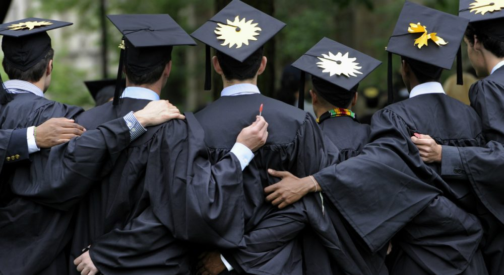 When it comes to success and fulfillment after college, it's not the school that counts, but the student's experience there. (Jessica Hill, File/AP)