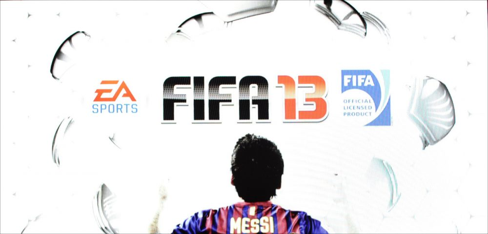 Approximately 2.32 million copies of FIFA Soccer 13 sold in North America. (Joe Klamar/AFP/Getty Images)