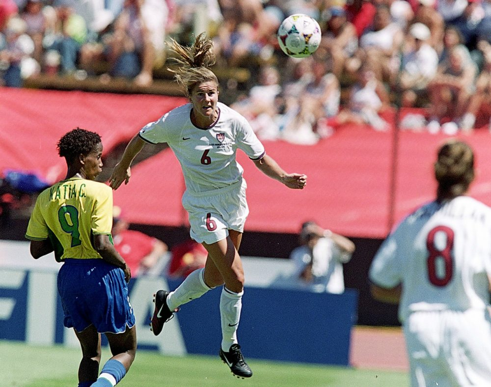 photo Brandi Chastain