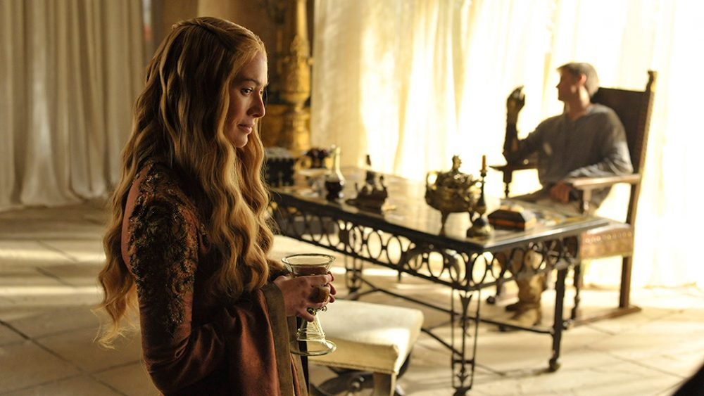 """The HBO show """"Game of Thrones"""" has received 19 Emmy nominations, including one for actress Lena Headey, left, who plays Cersei Lannister. (HBO)"""