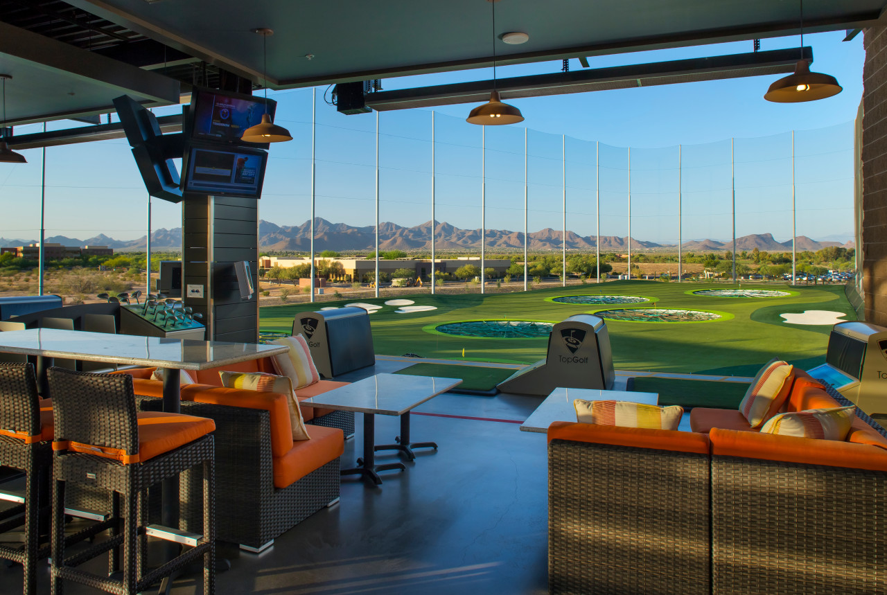 As Traditional Golf Courses Shutter Topgolf Draws Crowds