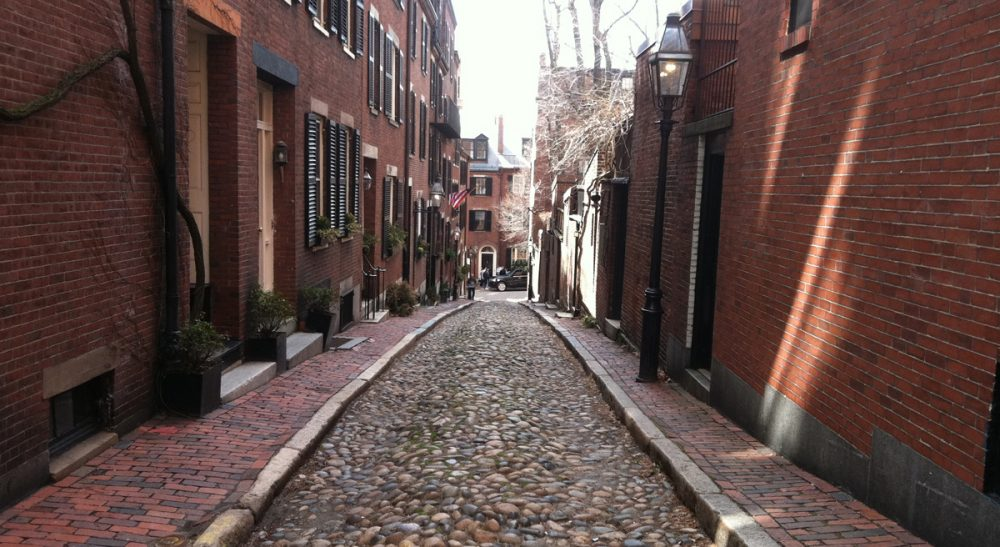 When residents of a historic neighborhood and the Americans with Disabilities Act collide. Pictured: A cobblestone side street in Boston's Beacon Hill.(c.gardner/Flickr)