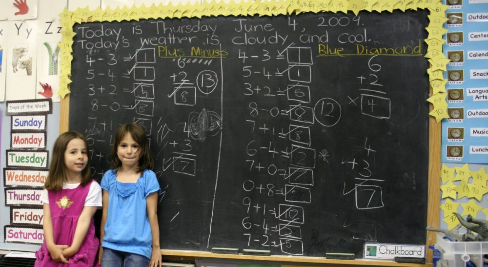 """Erica Orthmann: """"Gender stereotyping -- namely, the notion that math is for boys -- starts as early as second grade.""""(woodleywonderworks/flickr)"""