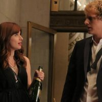 """Aya Cash as Gretchen meets Chris Geere as Jimmy in """"You're the Worst."""" (Byron Cohen/FX)"""