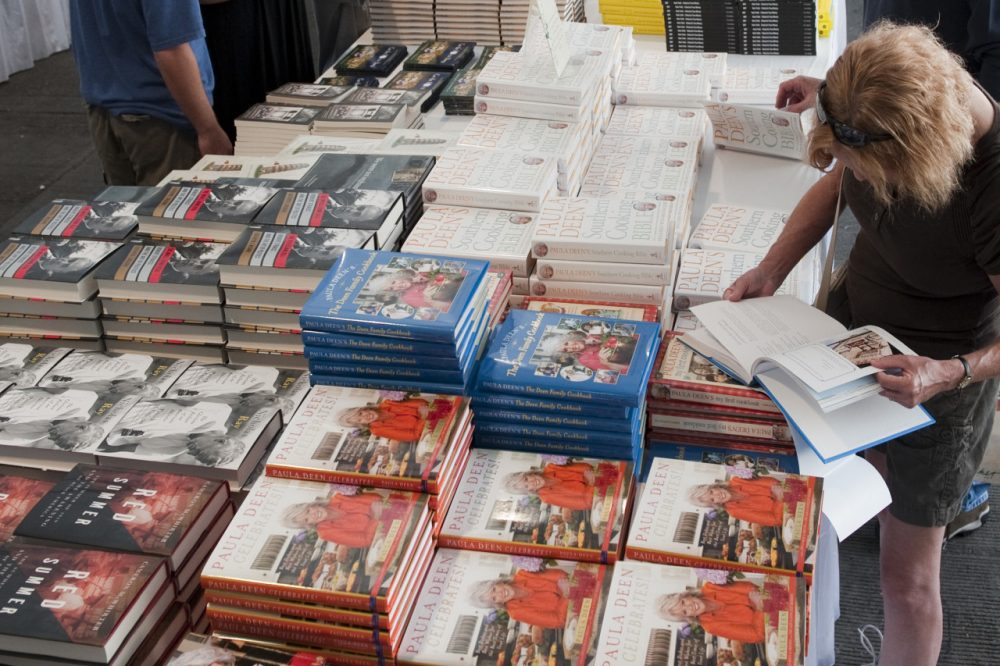 A scene from the 2013 Texas Book Festival in Austin, TX. (Courtesy Texas Book Festival)