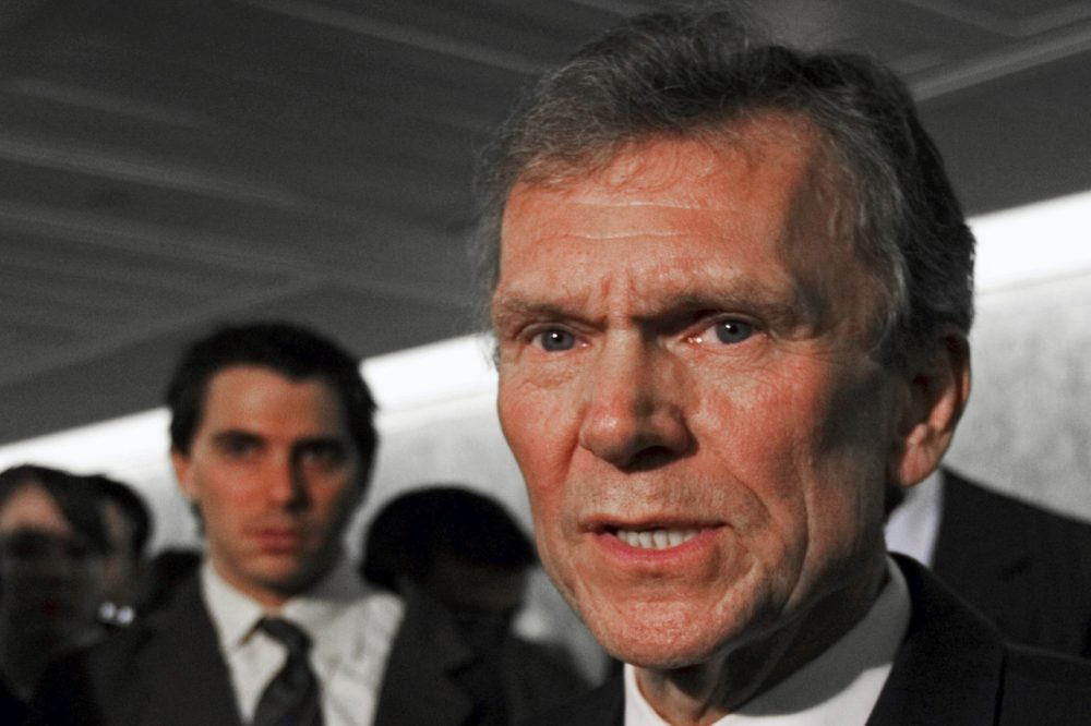 In this Feb. 2, 2009 file photo, former Senate Majority Leader Tom Daschle speaks on Capitol Hill in Washington. (AP)