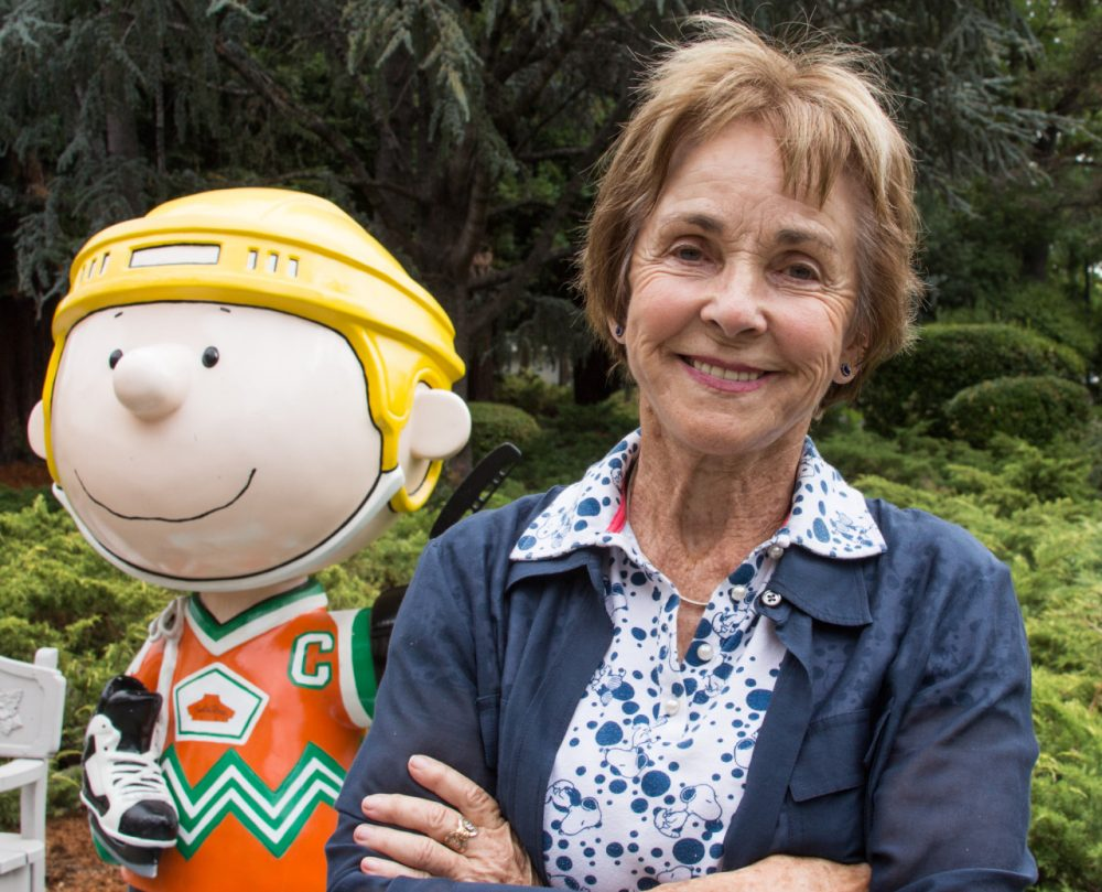 "Jean Schulz, widow of cartoonist Charles ""Sparky"" Schulz ("