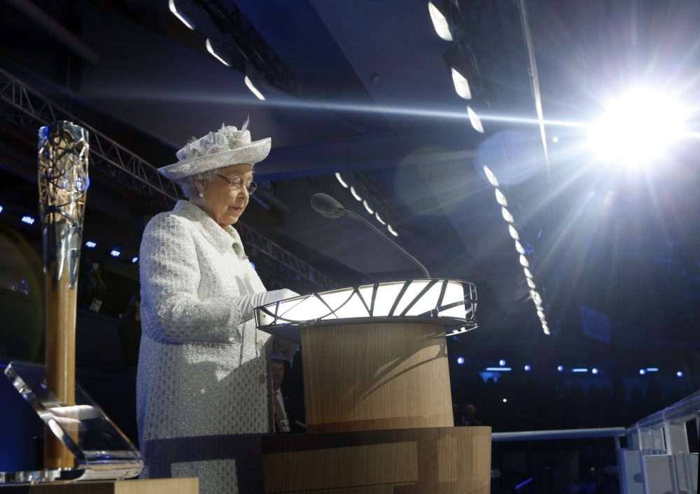 Queen Elizabeth II opened the 2014 Commonwealth Games. (Danny Lawson/AP)