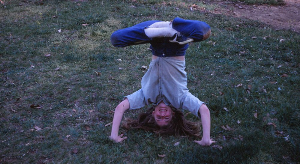 Even a kid who hates camp can take away a valuable life lesson.  Pictured: The author, age 11, at Camp Louise, where she figured out that friendships can start with headstands and cartwheels. (Sam Brody/Courtesy)