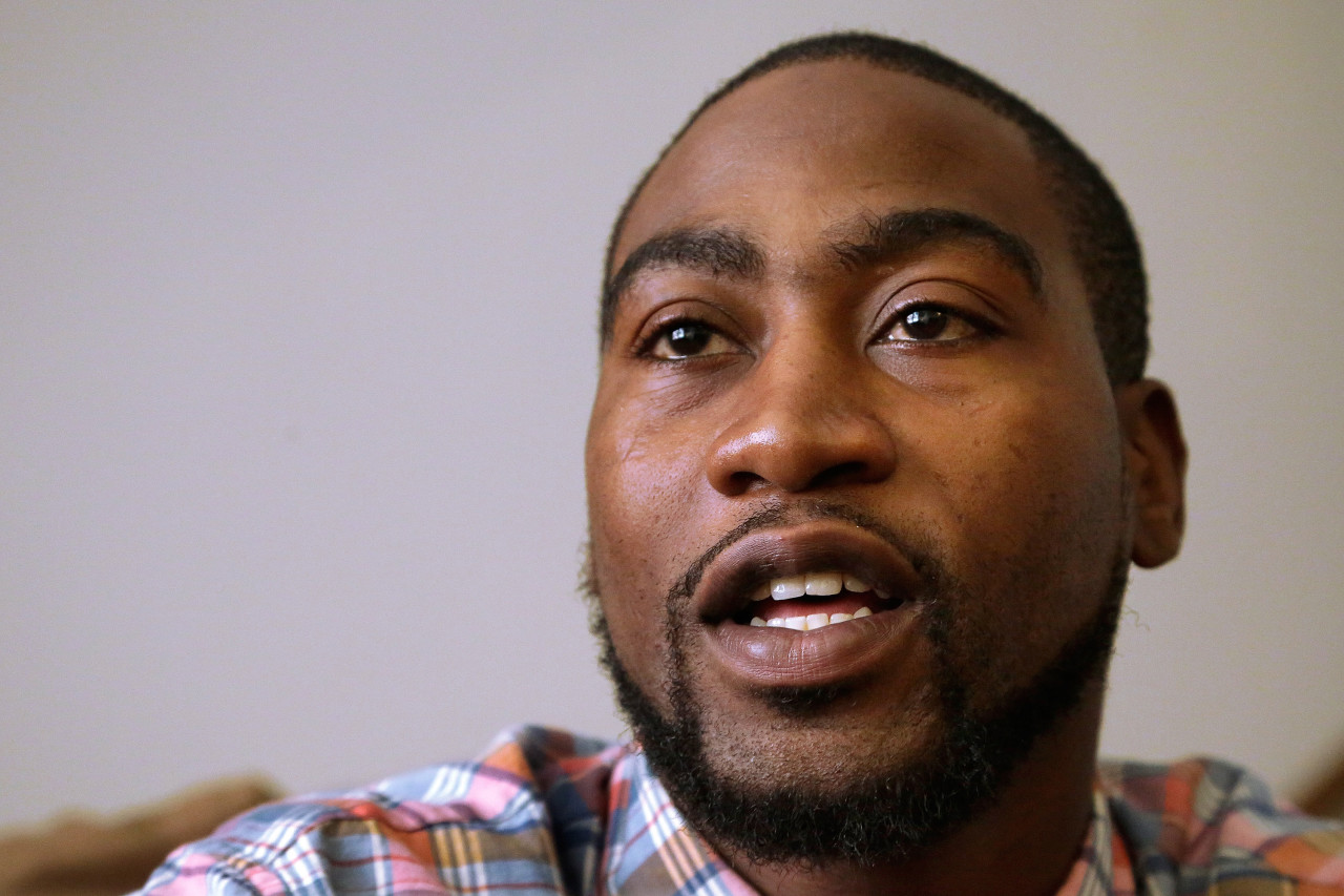 Adrian Arrington, a former safety at Eastern Illinois University, was the lead plaintiff in the class-action lawsuit against the NCAA. The case has been settled with $70 million being pledged to diagnose concussions. (Seth Perlman/AP Photo)