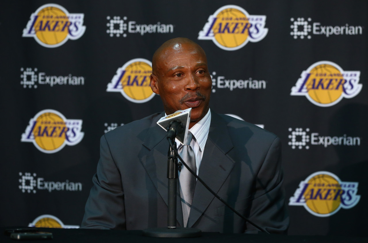 Byron Scott is back with the Lakers -- this time as head coach. (Jeff Gross/Getty Images)
