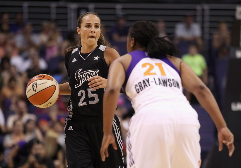 Becky Hammon is the NBA's first full-time female assistant coach. (Christian Petersen/Getty Images)