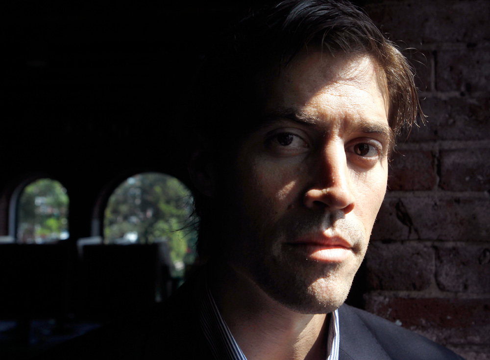 Journalist James Foley, of Rochester, N.H., in a 2011 file photo (Steven Senne/AP)