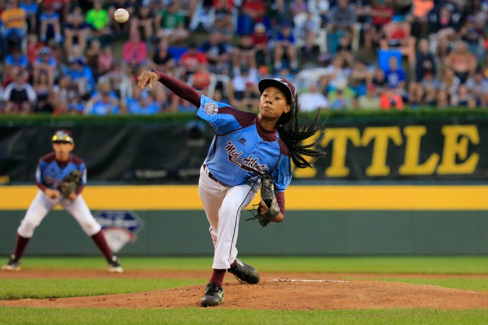 Mo'ne Davis is only 13 and she's already been on the cover of Sports Illustrated. (Rob Carr/Getty Images)