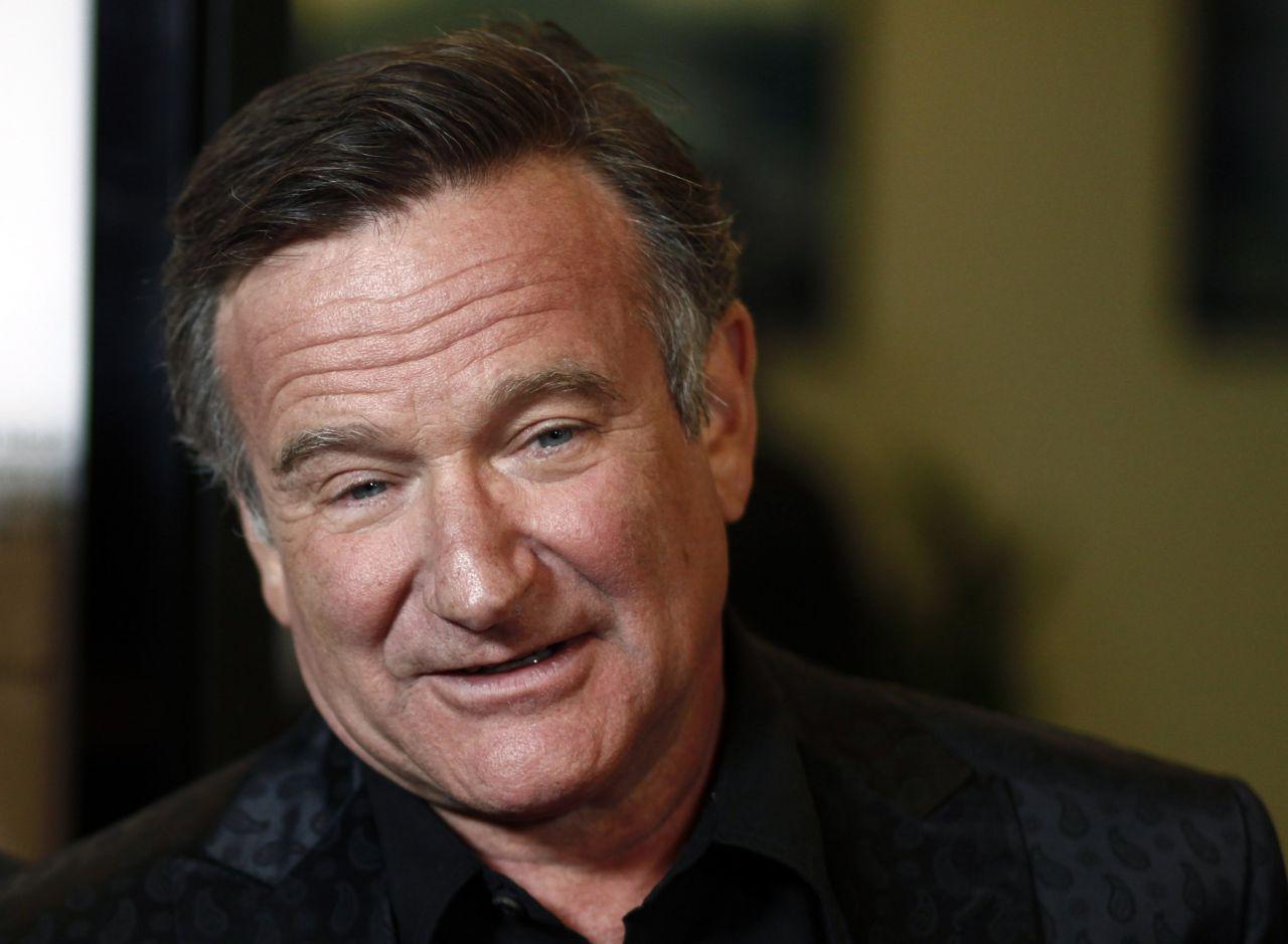 Robin Williams in Los Angeles in 2009 (Matt Sayles/AP)