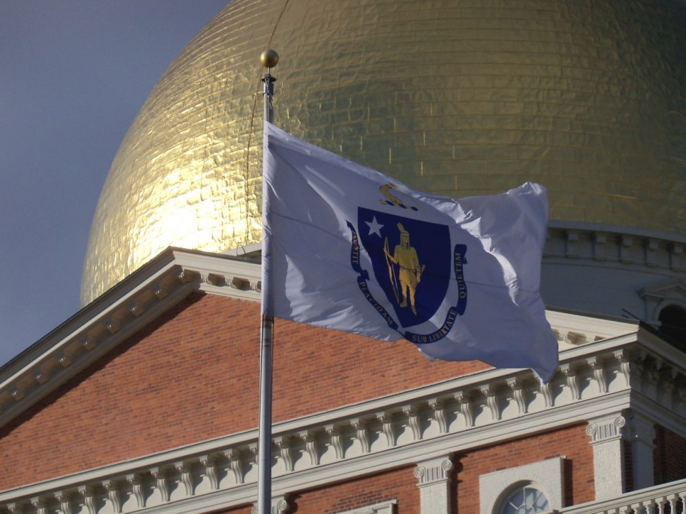 The Massachusetts State House. (Wikimedia Commons/Alexius Horatius)